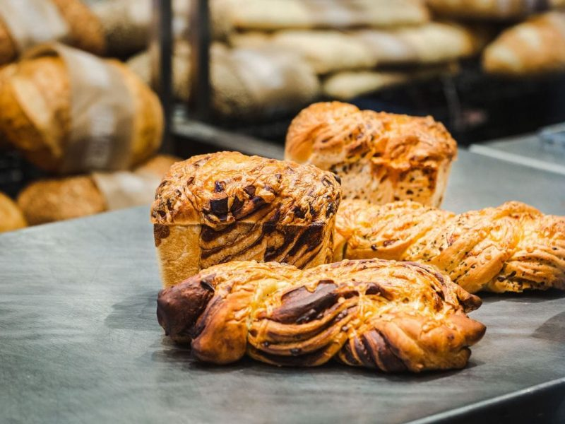 savoury baked breads