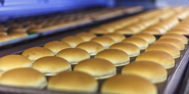 What are hamburger buns made of