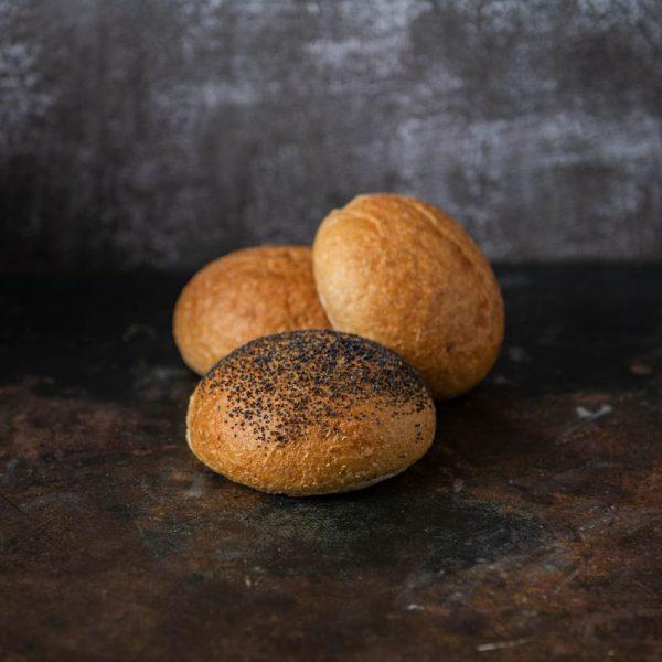 bread rolls poppy seed