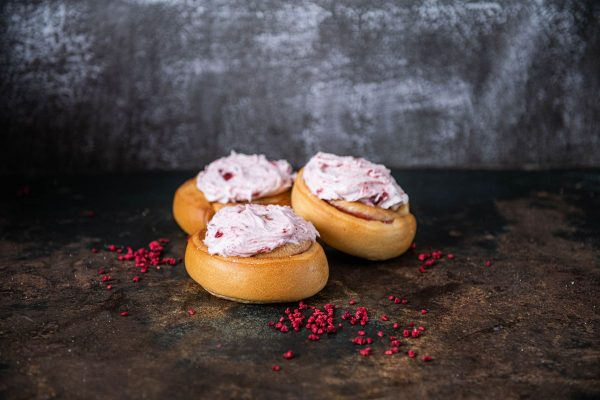 cream jam scrolls