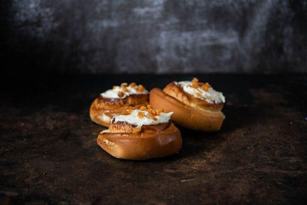 apricot custard scrolls